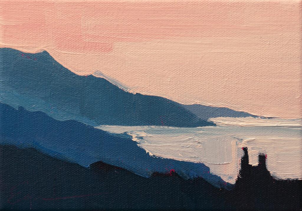 Dawn, Coast by Erin Lee Gafill