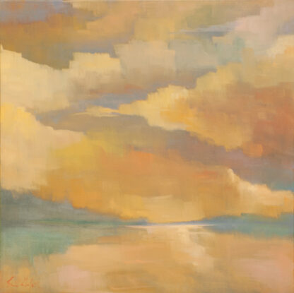 Clouds at Dusk By Erin Lee Gafill