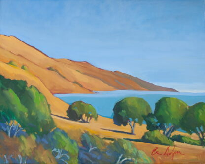 Big Sur, South from Ventana By Erin Lee Gafill