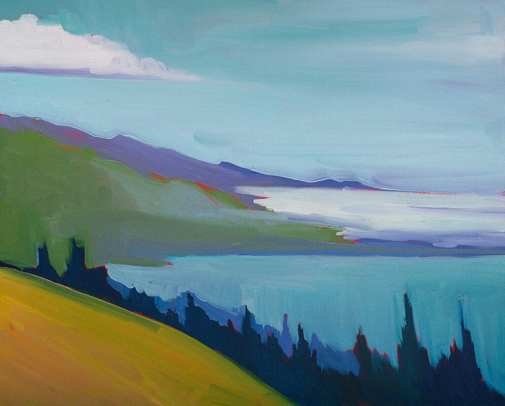 Fog Bank, Big Sur - Fine Art Print