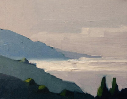 Quiet Morning, Big Sur by Erin Lee Gafill