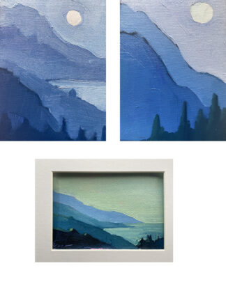 Three Landscapes by Erin Lee Gafill