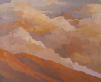 Santa Lucia Mountains, Clouds by Erin Lee Gafill