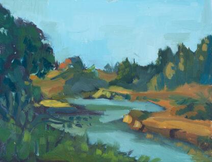 Ten Mile River, Dusk