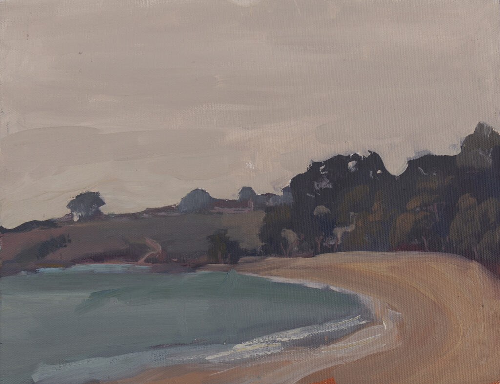 Morning at Monastery Beach by Erin Lee Gafill