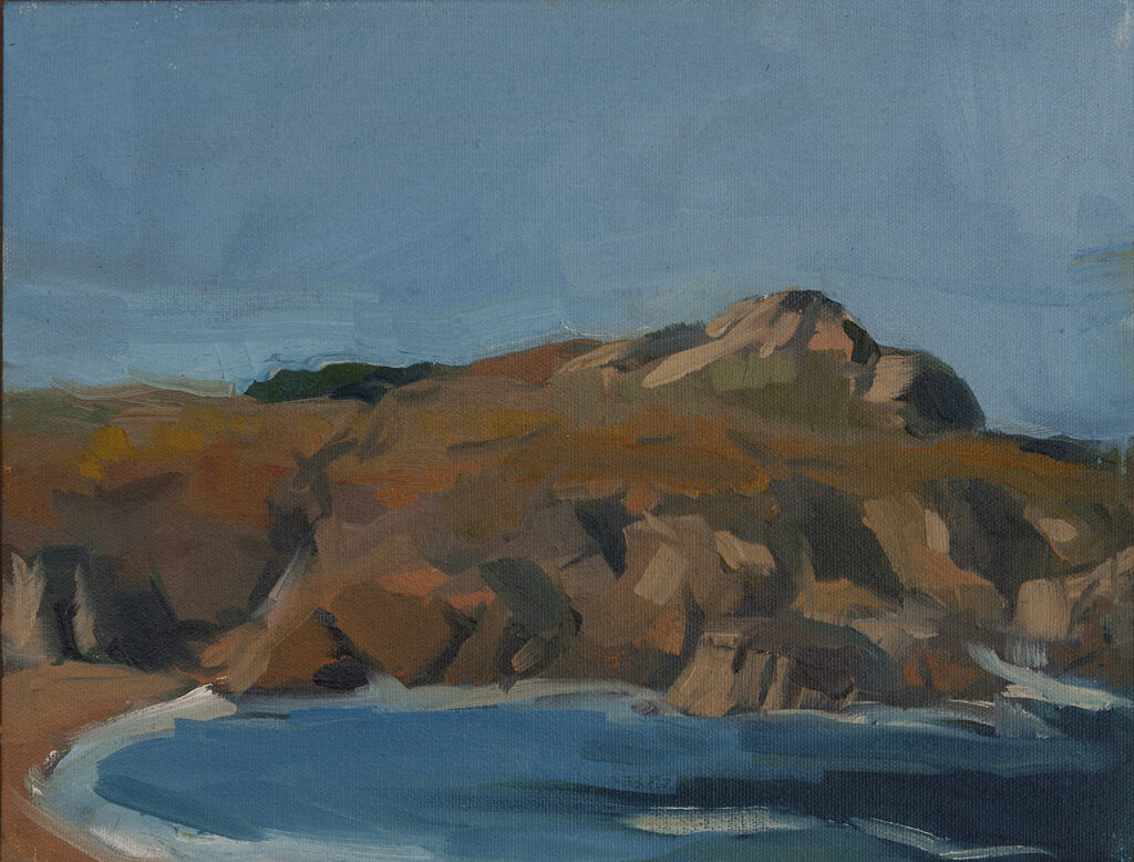 Rocks and Water, Monastery Beach, Carmel by Erin Lee Gafill