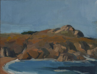 Rocks and Water, Monastery Beach, Carmel by Erin Lee Gafill