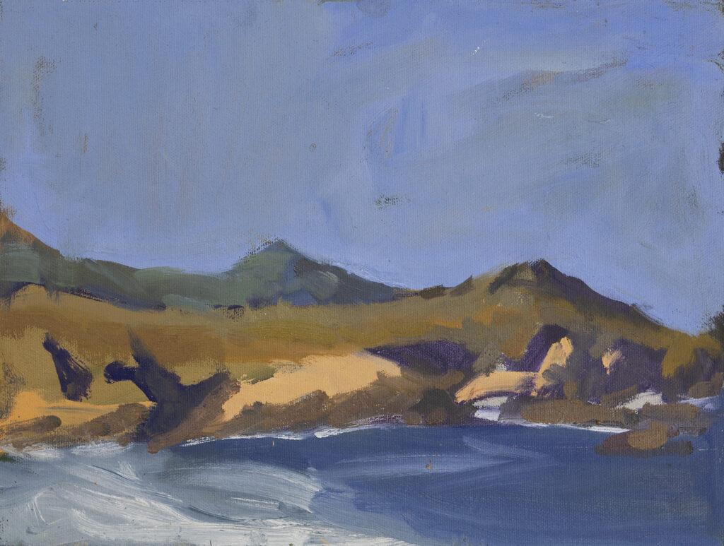 Cliffs at Monastery Beach, Carmel