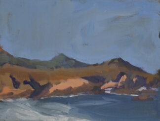 Cliffs at Monastery Beach by Ein Lee Gafill