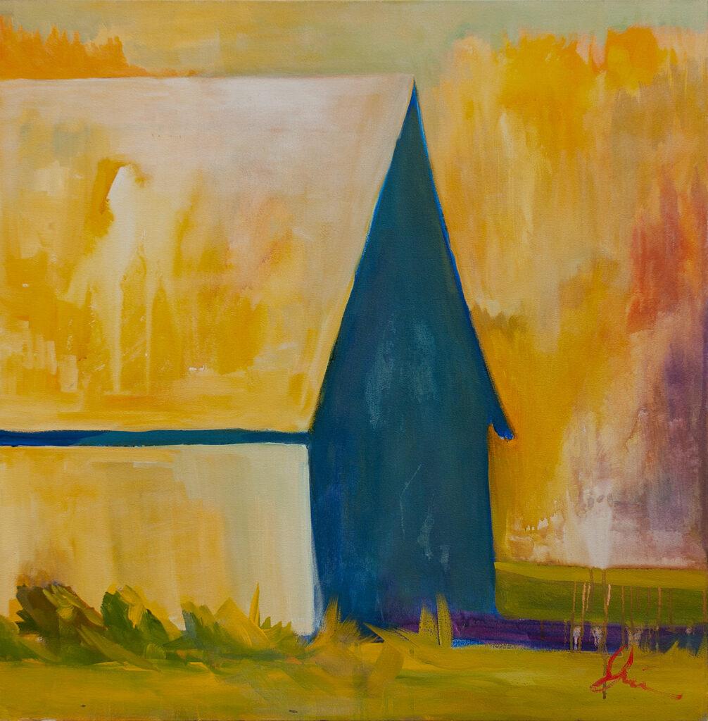 Golden Barn by Erin Lee Gafill
