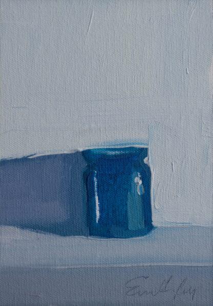 Cobalt Jar, Shadow II by Erin Lee Gafill