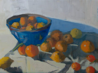 Bowl of Citrus from Rosalia's Garden by Erin Lee Gafill