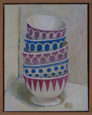 Stack of Bowls by Kaffe Fassett