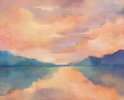 Waterway, Where the River Meets the Sea by Erin Lee Gafill