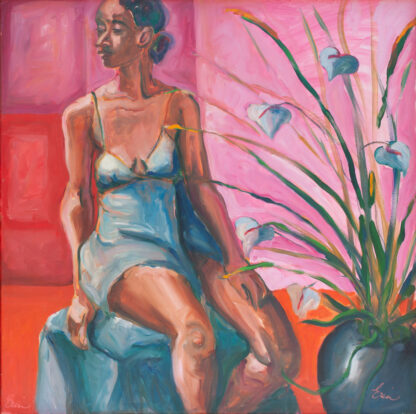Bettina, Pinks, Reds, Blues by Erin Lee Gafill