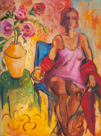 Girl in Pink by Erin Lee Gafill