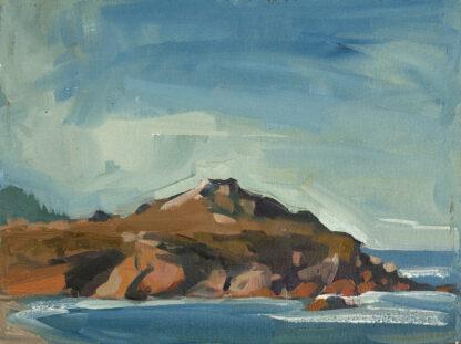 Monastery Beach, Looking West by Erin Lee Gafill
