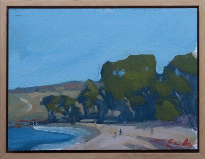 Beach Day, Monastery Beach by Erin Lee Gafill