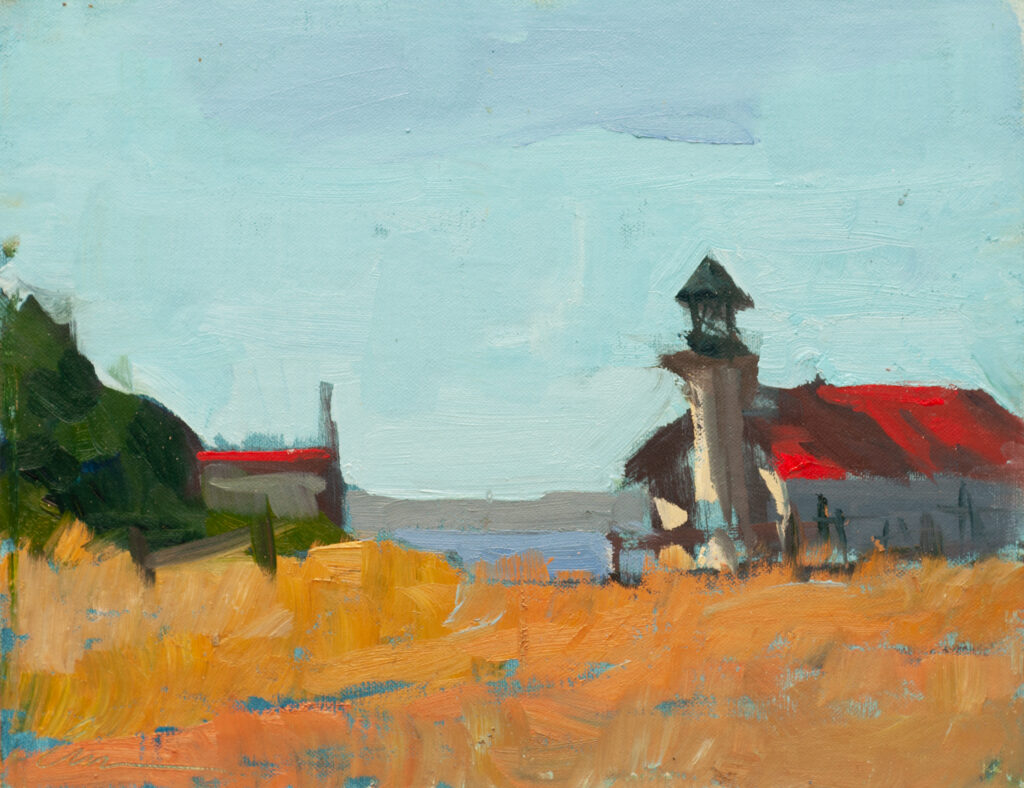 Point Cabrillo Lighthouse I by Erin Lee Gafill