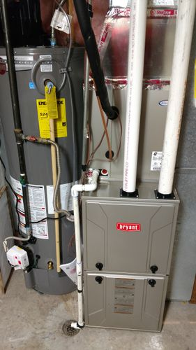 New Bryant furnace