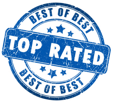 Best of Best TOP RATED Badge