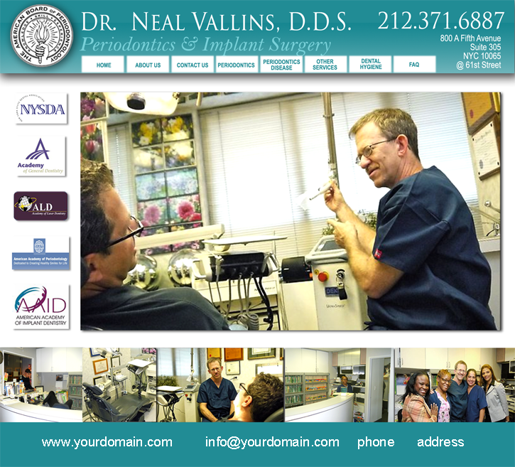 Dr Vallins Website