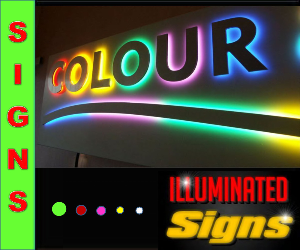 Iluminated signs
