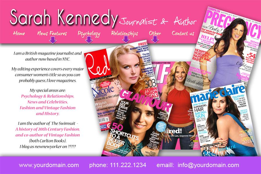 Sarah Kennedy Website