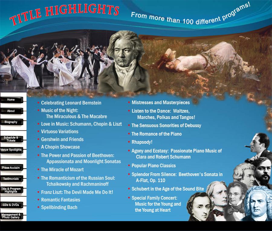 Siegel Website Title Highlights