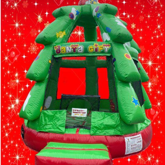 Christmas Tree Bounce House