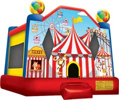 Circus Tent Bounce House