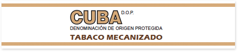 """Seal that identifies the boxes of machine-made cigars """"tabaco mecanizado"""" produced in Cuba. Those are not Habanos"""