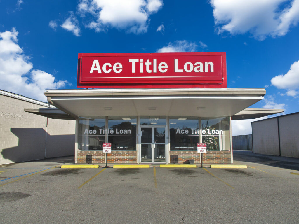 Get instant cash loans at Ace Title Loan - Tillmans Corner Location - Mobile, AL