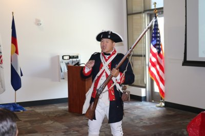 Revolutionary War Militiaman
