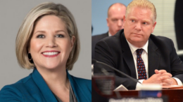 Andrea Horwath Lock down