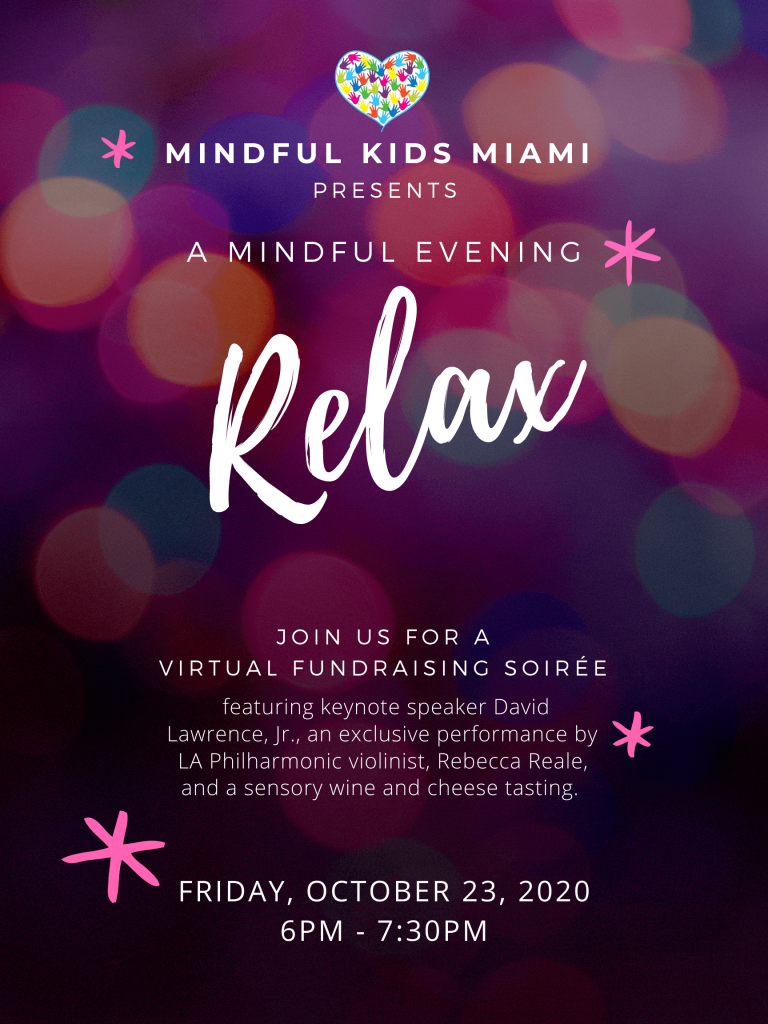 A Mindful Evening Fundraising event