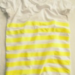 Tut Tuesday: Neon Yellow Striped T-Shirt