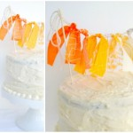 DIY Ribbon Cake Bunting