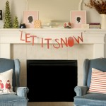 DIY Let It Snow Garland