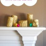 Anthropologie-inspired Golden Logs