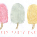 Printable Watercolor Popsicles For The Win