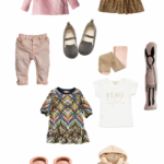 Shopped \ Pink & Natural Toddler Girl