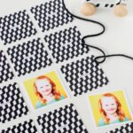 A Family Memory Game with Pinhole Press