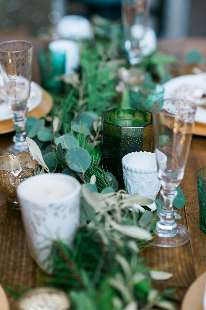 A WREATH-MAKING BRIDAL SHOWER FOR THE HOLIDAYS
