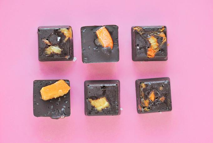 Orange & Olive Sea Salt Chocolates