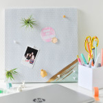 DIY Painted Magnet Board