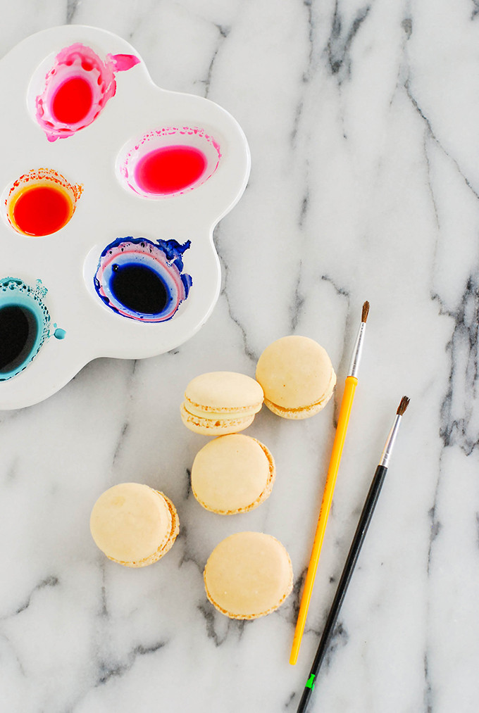 DIY Colorblocked Macarons For Mother's Day