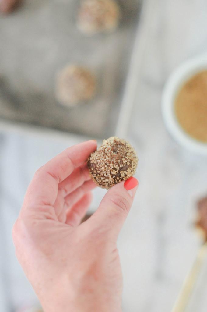 Brownie Snap Cookies