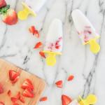 Taste It \\ Strawberry & Coconut Popsicles