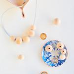 Make & Wear \\ DIY Wood Bead Necklace